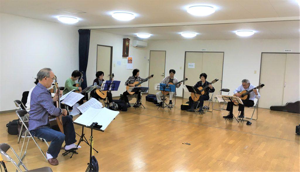 ギターアンサンブルダカーポ10/27練習